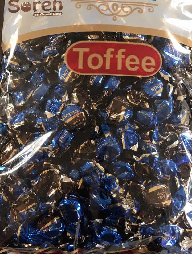 شکلات تافی ترش میوه ای