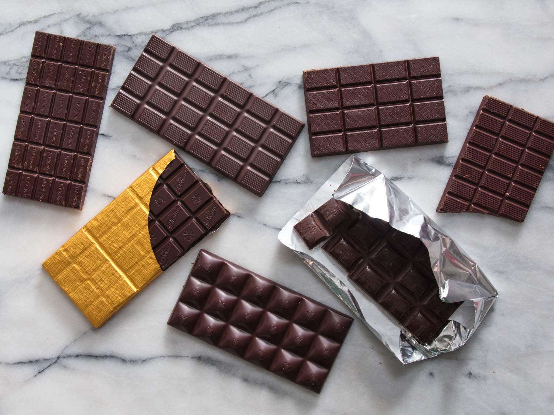 انواع شکلات تخته ای