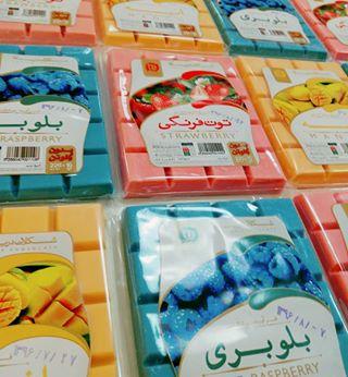 فروش شکلات تخته ای رنگی