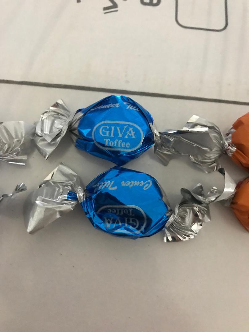 صادرات شکلات تافی مغزدار