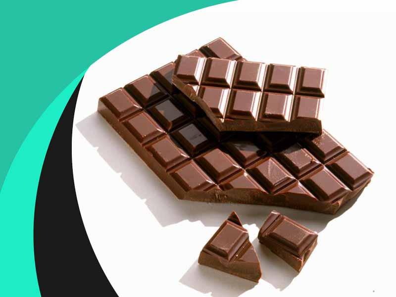 شکلات تخته ای میوه ای