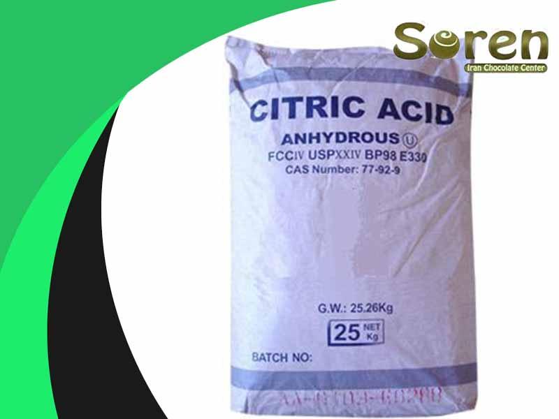 انواع اسیدسیتریک