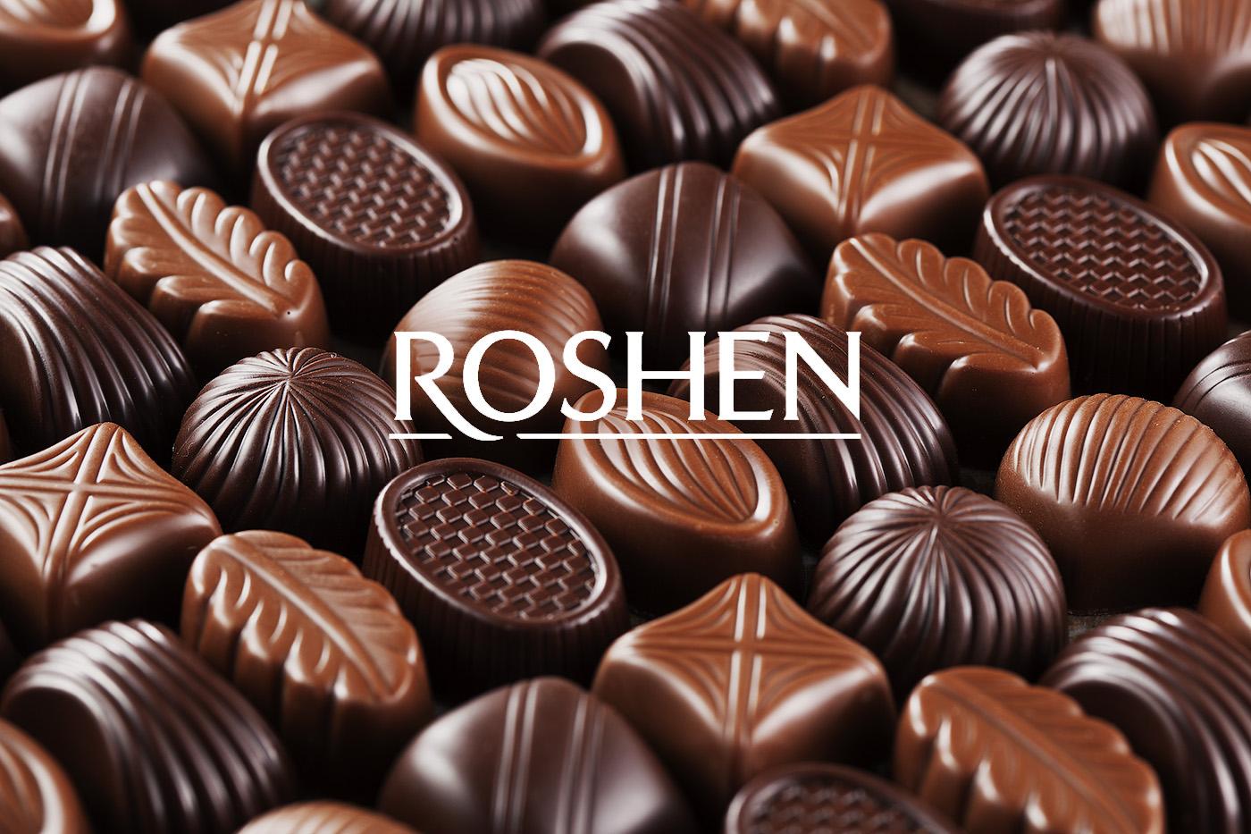 قیمت عمده شکلات roshen