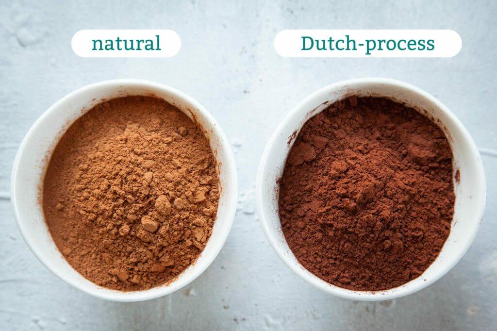 انواع پودر کاکائو و کاربردهای آنها