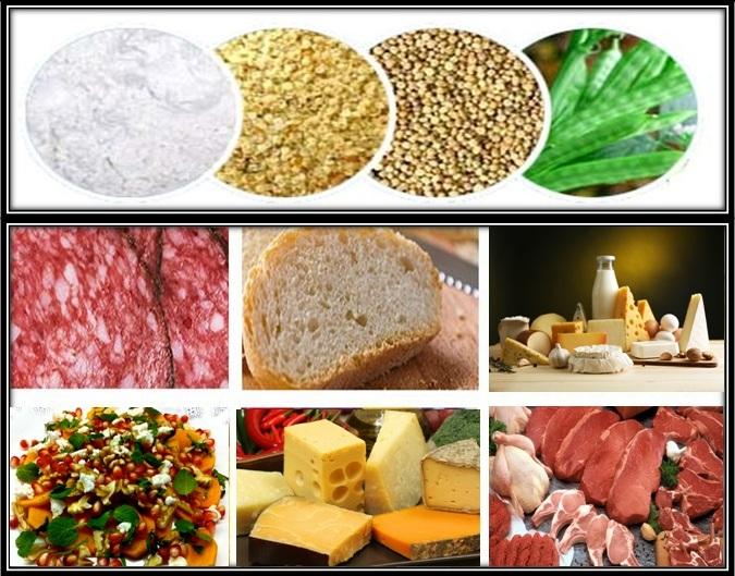 موارد مصرف پودر گوار در مواد غذایی