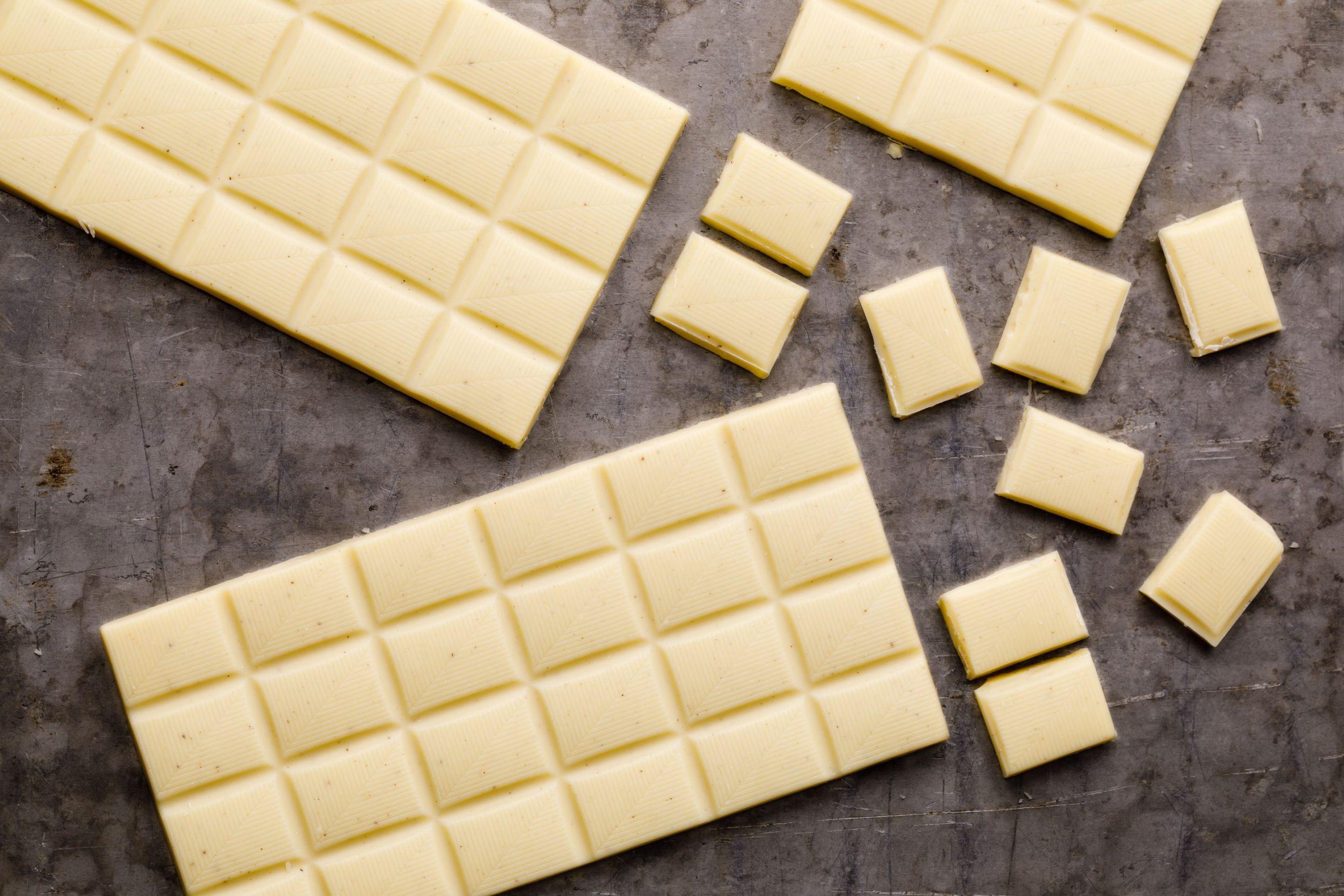 فروش ویژه شکلات تخته ای سفید